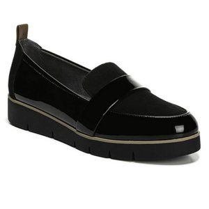 DR. SCHOLL'S Webster Wedge Loafer Faux Patent